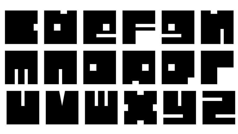Alphabet Square