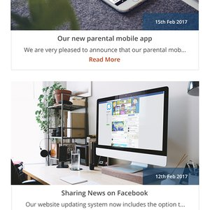 Corporate Site Blog Responsive