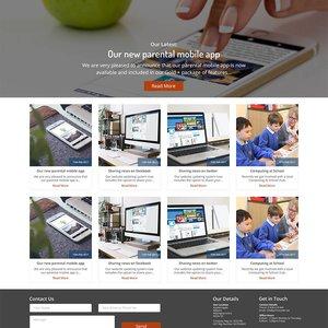 Corporate Website Blog Desktop
