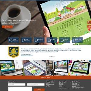Corporate Website Homepage Design