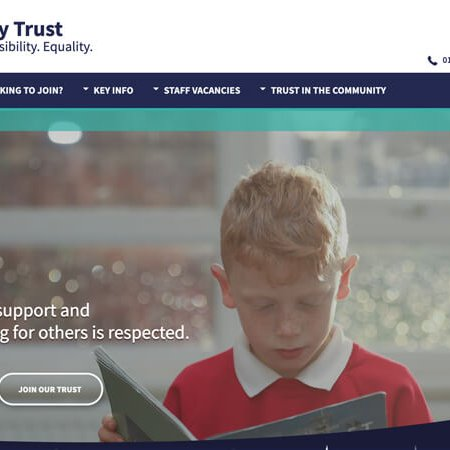 Galaxy Trust Website